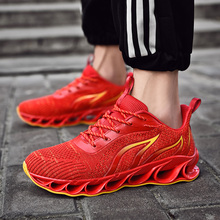 GUDERIAN New Fashion Men Vulcanize Shoes Designer Sneakers Wear-Resisting Breathable Mens Casual Zapatillas Deportivas