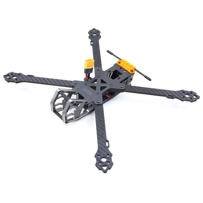Geprc GEP-KHX7 Elegant 7 Inch 300mm Wheelbase 4mm Arm 3K Carbon Fiber FPV Racing Frame Kit For RC Models DIY Parts High Quality geprc diy fpv mini drone gep bx5 flyshark quadcopter 3k pure carbon fiber frame for the racing 4 5 6 4mm main arm plate