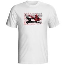 Snake Eyes Crossover Deadpool T Shirt G.I. Joe Hip Hop Creative Cool T-shirt Pop Style Funny Unisex Tee