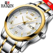 HAIQIN Men watch top brand luxury Automatic mechanical Busin