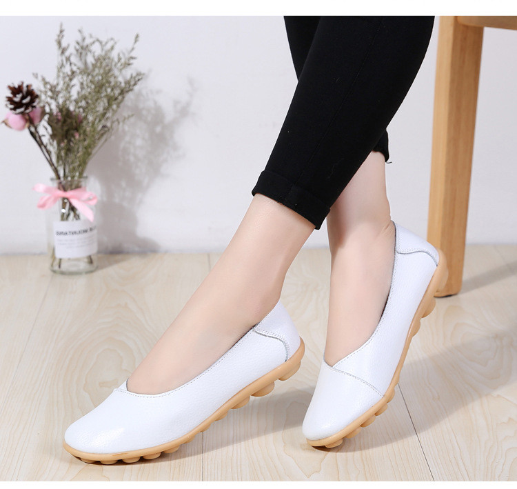 AH 5928-2019 Spring Autumn Woman Flats Casual Women Loafers-6