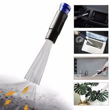 Universal Vacuum Attachment Dust Small Suction Brush Tubes Cleaner Remover Tool Cleaning Brush for Air Vents Keyboards(China)