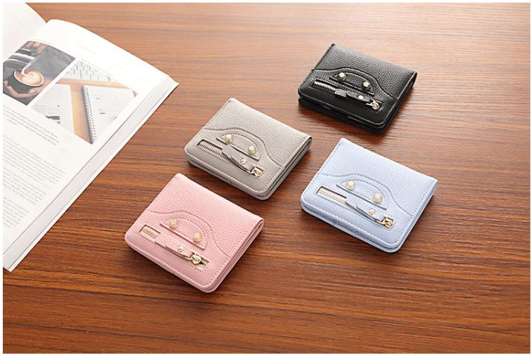 New Women Leather Pattern Coin Purse Passcard Short Wallet Pockets Note Compartment Passcard Card Holder Wallet BagNew Women Leather Pattern Coin Purse Passcard Short Wallet Pockets Note Compartment Passcard Card Holder Wallet Bag