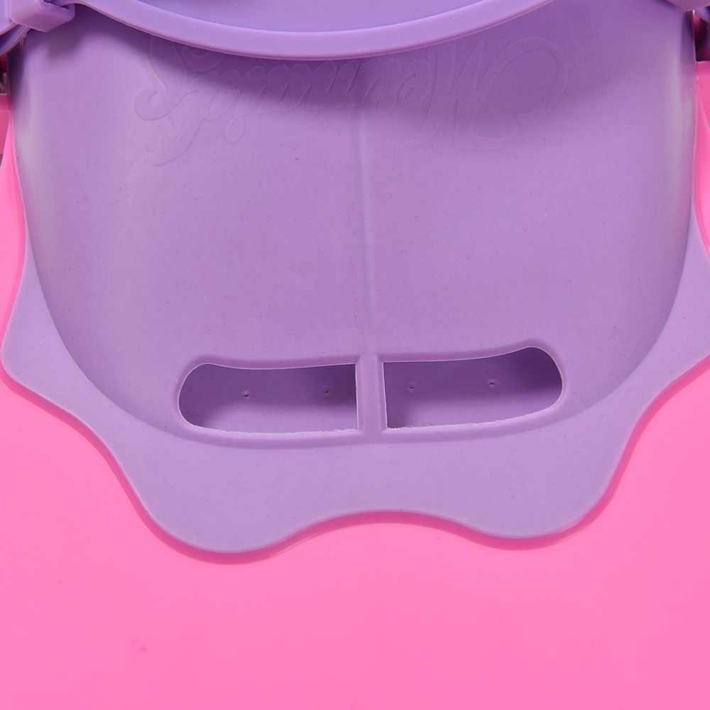 Gmarty 1pc調整可能なピンクキッズガールファンシーマーメイド水泳フィンダイビング水泳足フリッパービーチアクセサリー