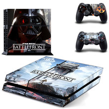 Star Wars PS4 Skin Sticker Cover for Sony PlayStation 4 Console and 2 controller skins