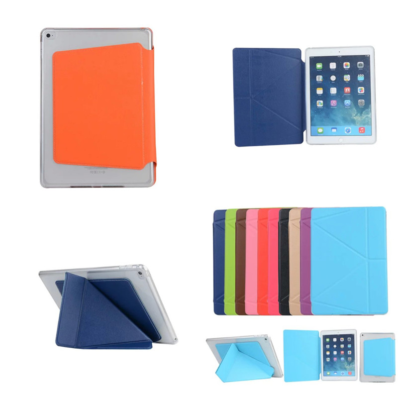 OST Fashion Transformer flip PU leather For Apple iPad mini 4 Case Tablet Luxury  Smart Wake Cover For iPad mini4 Stand Colorful smart case for ipad mini 4 case transformer folding with stand slim pu leather transparent back cover for ipad mini4 7 9