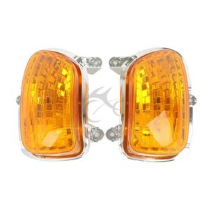 Image 4 - Motorcycle Front Turn Signal Light Lens Shell For Honda Goldwing GL 1800 2001 2017