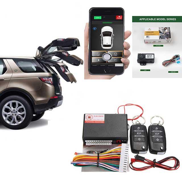 Keyless Entry Central Locking Push Button Ignition Door Lock Car Alarm SmartPhonePKE Control Car Alarm System For Dodge Durango