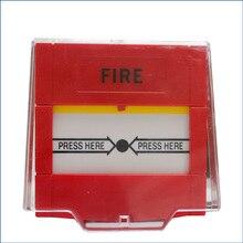 CJ-SB808R аварийный переключатель кнопка пожарной тревоги Обычная ручная точка вызова легко нажимать в аварийном состоянии Сброс с помощью ключа