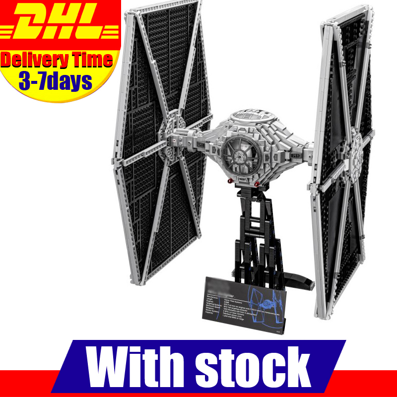 EN Stock LEPIN 05036 1685 Unids Estrella Guerra Darth Vader TIE Fighter Kits de
