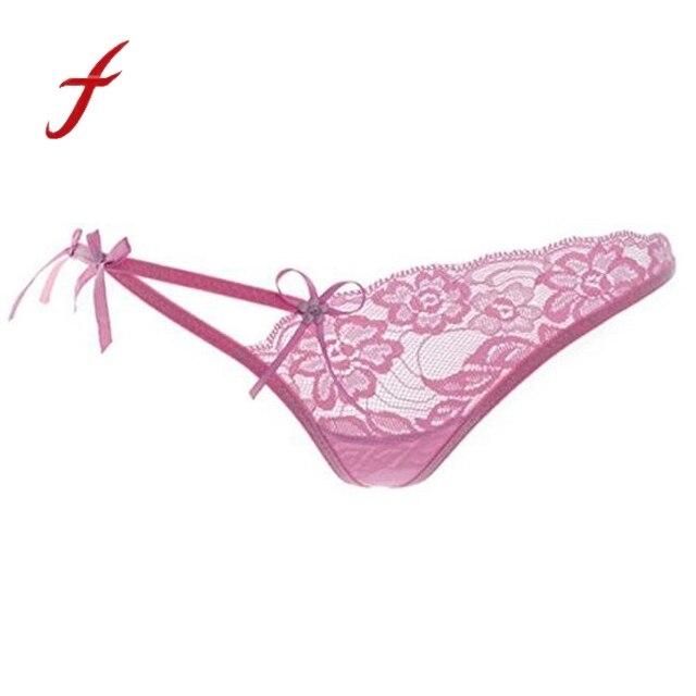418621fd0e Nouveau chaud femmes Sexy Lingerie dentelle G-String culotte slips culottes  vêtements de nuit sous