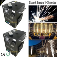 2*lot Cold Spark Fountain non flammable Fireworks Sparkular FX Simulator Machine Incredibly cool atmosphere effects