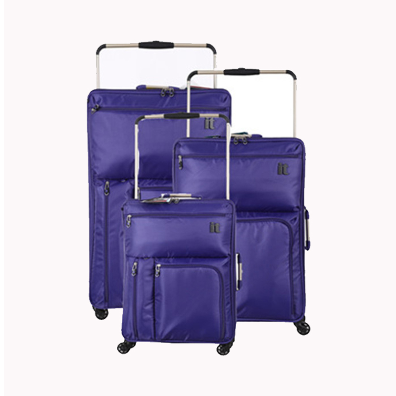 Nieuwe Mode Ultra licht waterdicht Rollende Bagage tas Reistas Op Wielen Merk Trolley Koffer voor Mannen vs Vrouwen Boarding doos-in Trolley van Bagage & Tassen op  Groep 1