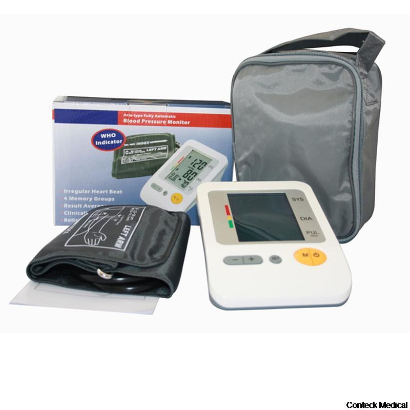 ФОТО Digital Upper Arm Blood Pressure Pulse Monitor Health care Monitor Meter Sphygmomanometer Protable with CE FDA approved AH-216