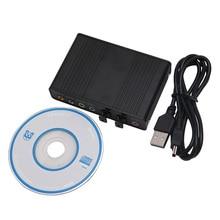 USB 5.1 Channel External Optical Audio Fiber Sound Card S/PDIF for PC Laptop #K400Y# DropShip
