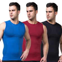 Men's Body Control Shaper Vest Tummy Belly Waist Girdle Cincher Shirt Underwear Bodysuit