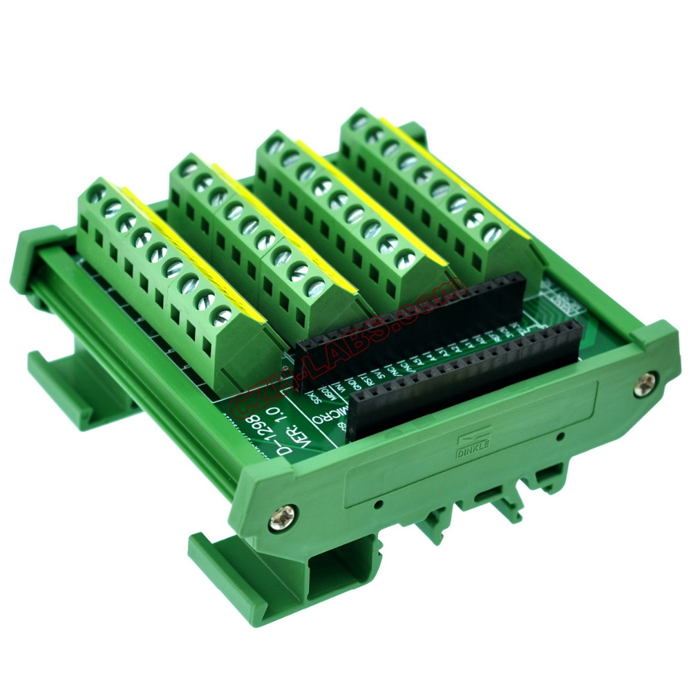 Common Anode NPN//PNP 8 Channel 24VDC Relay Board PLC DIN Rail Mounting