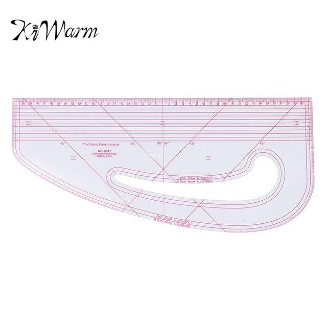 KiWarm Convenient Pattern Maker Fashion Designing Ruler Multi ...