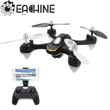 Lo nuevo Eachine E33W WiFi FPV Con Cámara Headless Modo Luz LED RC Quadcopter RTF VS JJRC H31