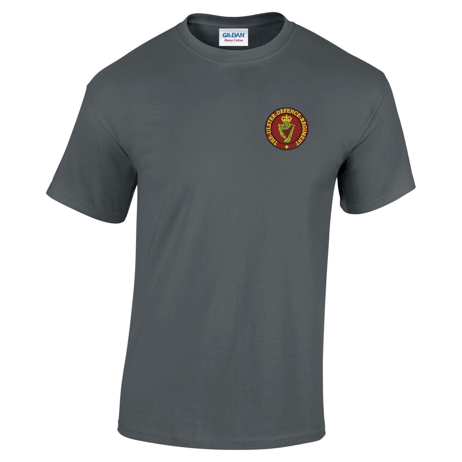 2018 Fashion Short Sleeve Black T Shirt 100% Cotton Ulster Defence Regimentkids T Shirts