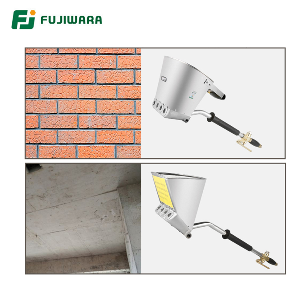 FUJIWARA 3L/3.5L Pneumatic Cement Mortar Spray Gun Wall And Roof Rapid Blasting Mortar Cement Wall Machine Roof Spray Gun AirFUJIWARA 3L/3.5L Pneumatic Cement Mortar Spray Gun Wall And Roof Rapid Blasting Mortar Cement Wall Machine Roof Spray Gun Air
