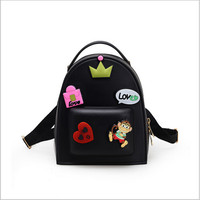2016 Summer New Jelly Shoulder Bag Sweet Cartoon Cute Child Student Backpack Bag Fashion Bags Children
