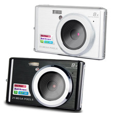 CDC3 2.7 Inch Digital Camera TFT HD Screen 21MP CMOS 5.0MP Anti-shake 1080P Digital Video Camera with 8X Digital Zoom(China)