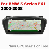 Android 7.0 up Car Multimedia player For BMW 5 Series E61 2003~2008 CCC WiFi GPS Navi Map Stereo Bluetooth 1080p IPS Screen