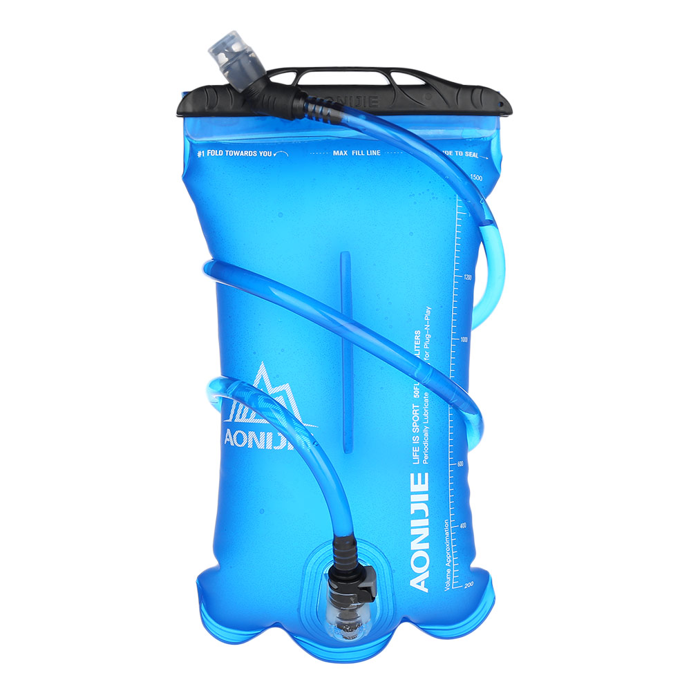 Aonijie Soft Flask For Sports Portable Safe Tpu Water Bag 15l 2l 3l Sd09 250ml Outdoor Camping Bladder Container In Bags From