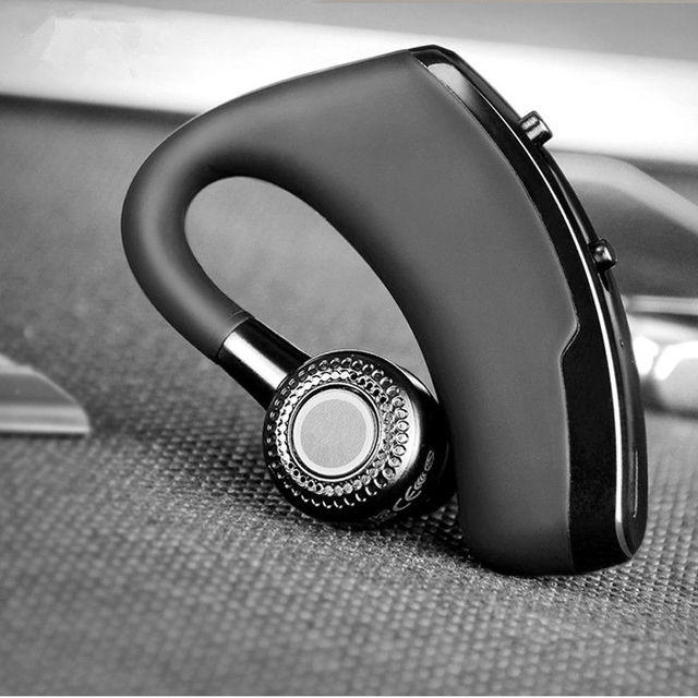 V9 earphones Handsfree Business Bluetooth Headphone With Mic  Wireless Bluetooth Headset For Drive Noise Reduction 6