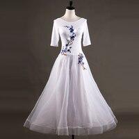 Customizable color ballroom dance dresses woman kids girl ballroom dance competition dresses waltz dress standard ballroom dress