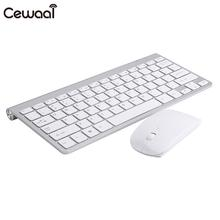 2.4GHz Full Size Keyboard and Mouse Set Accessories Competitive Recreation Computer Home Office Ultra Slim Gaming Keyboard Set
