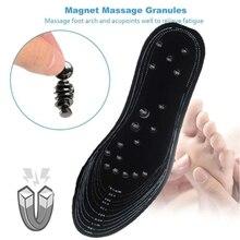 Массажная стелька для здоровья, магнитная терапевтическая стелька, комфортный массаж здоровья, дышащая терапия ног, Рефлексология, облегчающая боль стелька