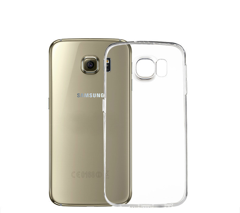 low priced b5d8a fd336 US $0.89 |Super Slim Crystal Clear TPU Gel Case For Samsung Galaxy S6 Edge  Ultra Thin Soft Transparent Bag Cover For Galaxy S6 Edge on Aliexpress.com  ...