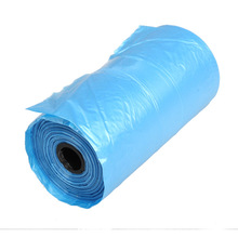40 Roll Blue Pet Poop Bags Dog Cat Waste Pick Up Clean Bag a Roll of  15  Bags