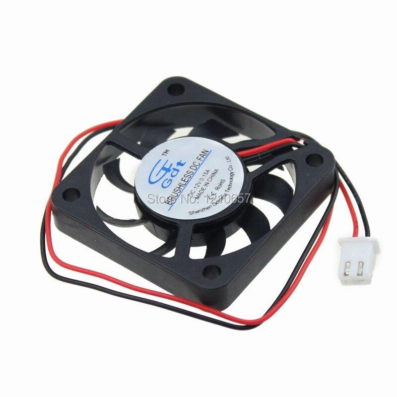 1PCS GDT 40mm 4cm 40x7mm 4007 DC 12V 2Pin Radiator Cooling Cooler Fan