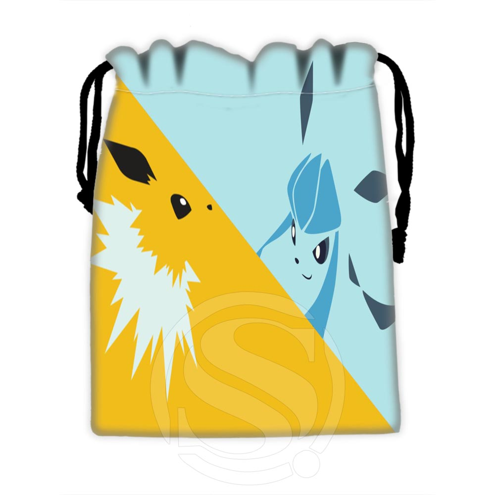 H-P589 Custom Eevee #27 Drawstring Bags For Mobile Phone Tablet PC Packaging Gift Bags18X22cm SQ00729-@H0589