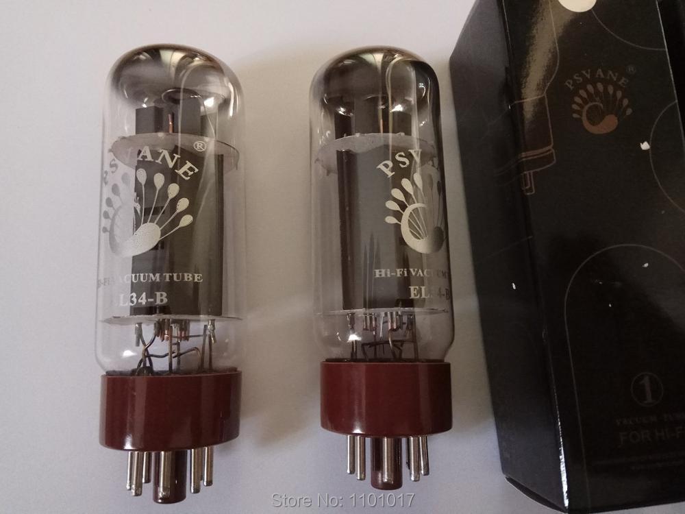 Psvane EL34 B HiFi Serie Vacuum Tube HIFI EXQUIS Music Electron Lamp Replace 6CA7 EL34 цена