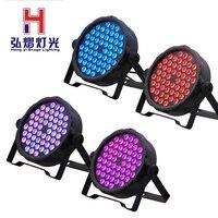 4PCS/LOT Par light led 54x3 waterproof par 54 led rgbw Ip 20 rgbw led par 64