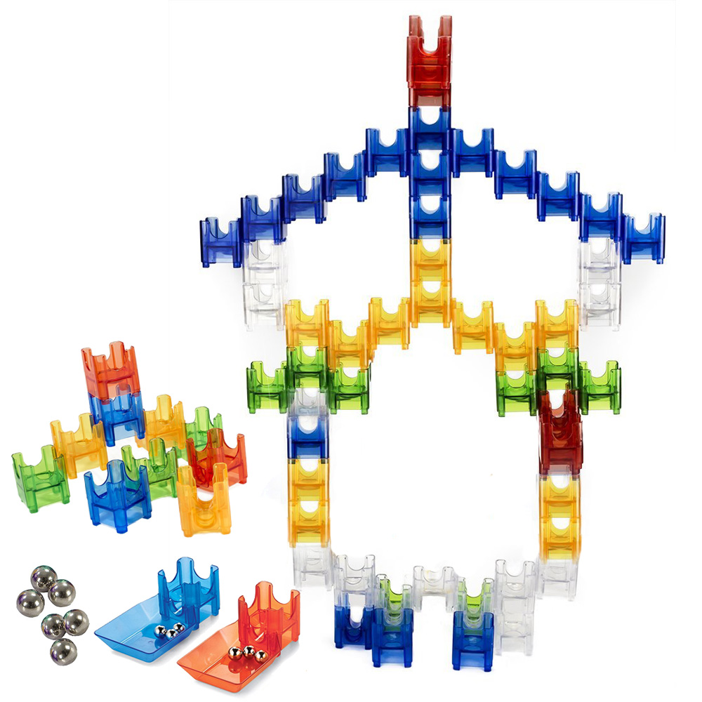 Aliexpress Com Buy Deluxe Marble Run Set 68pcs Marbulous