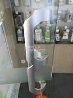 Solid Space Aluminum 7008 Glass Door Handle Bathroom Shower Room Sliding Door Handle Open Door Handle
