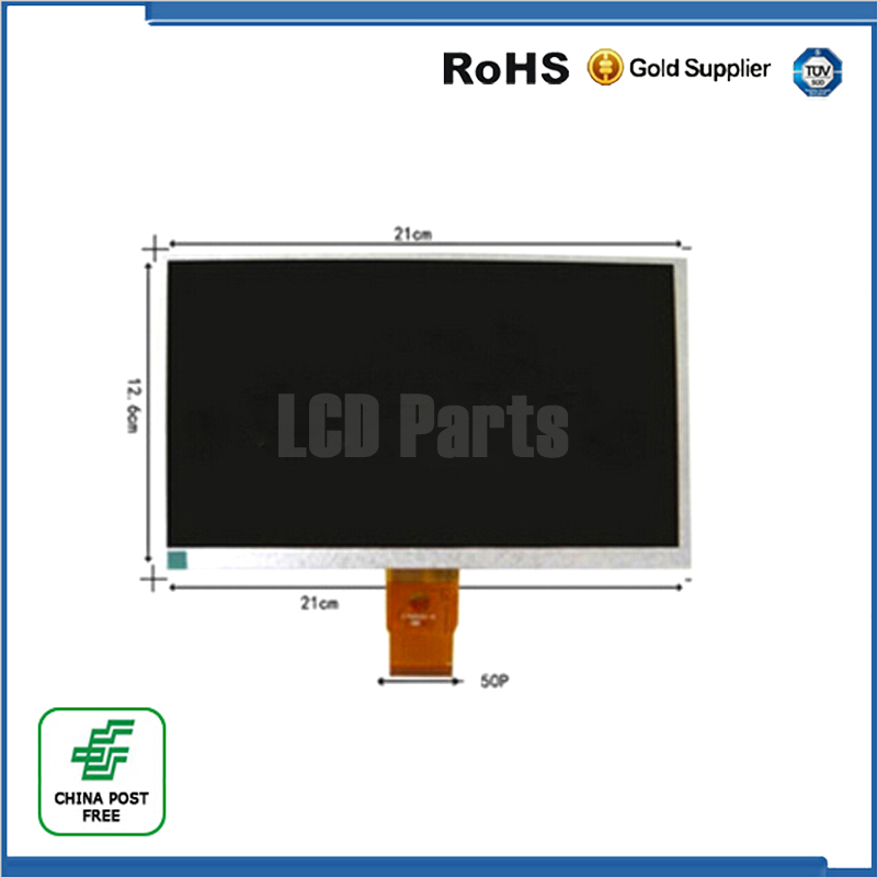 (Ref:HW800480F-4A-0A-30 40) HW800480F Original 9 inch LCD LCM Display PANEL screen 800*480 For Allwinner A13 Q9 Q90 Tablet PC