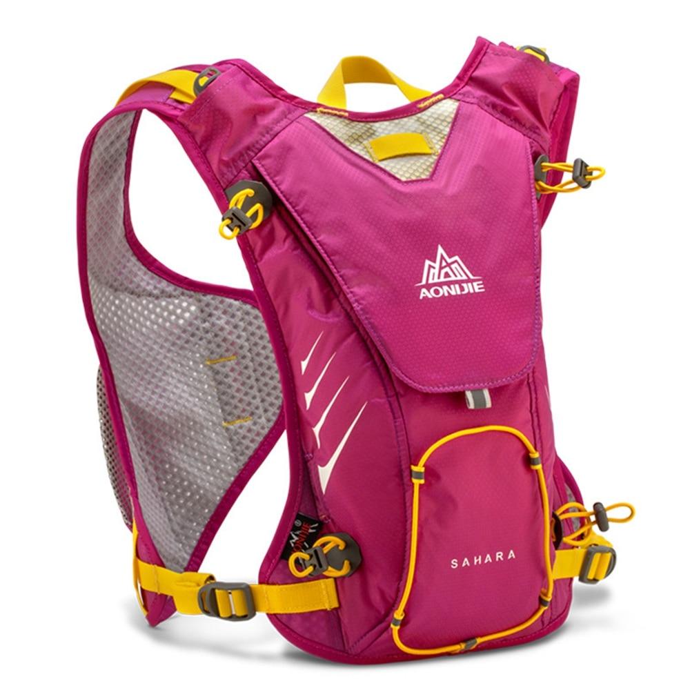 남성 여성을위한 + 1.5L 수화 물 가방과 AONIJIE 야외 트레일 러닝 마라톤 수화 배낭 경량 하이킹 가방