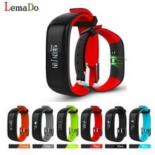 Lemado P1 Умный Браслет Артериального Давления Bluetooth Смарт Браслет Монитор Сердечного ритма Браслет Здоровье Фитнес для Android IOS Телефон