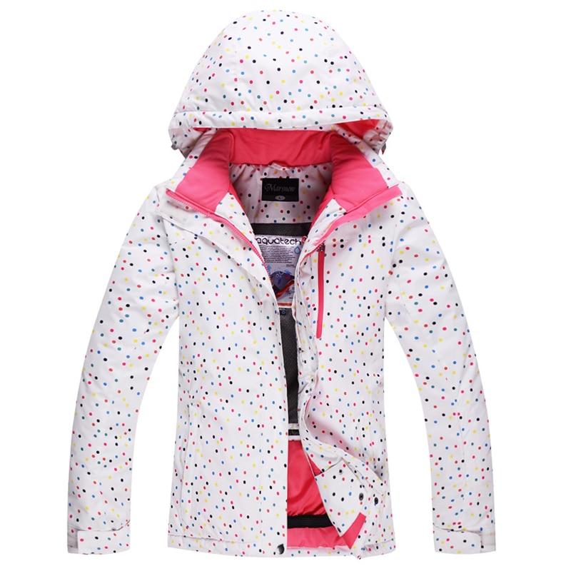 Prix pour Ski costume Femmes plus de velours épaississement thermique hiver imperméables en plein air monoboard ski vêtements Livraison gratuite