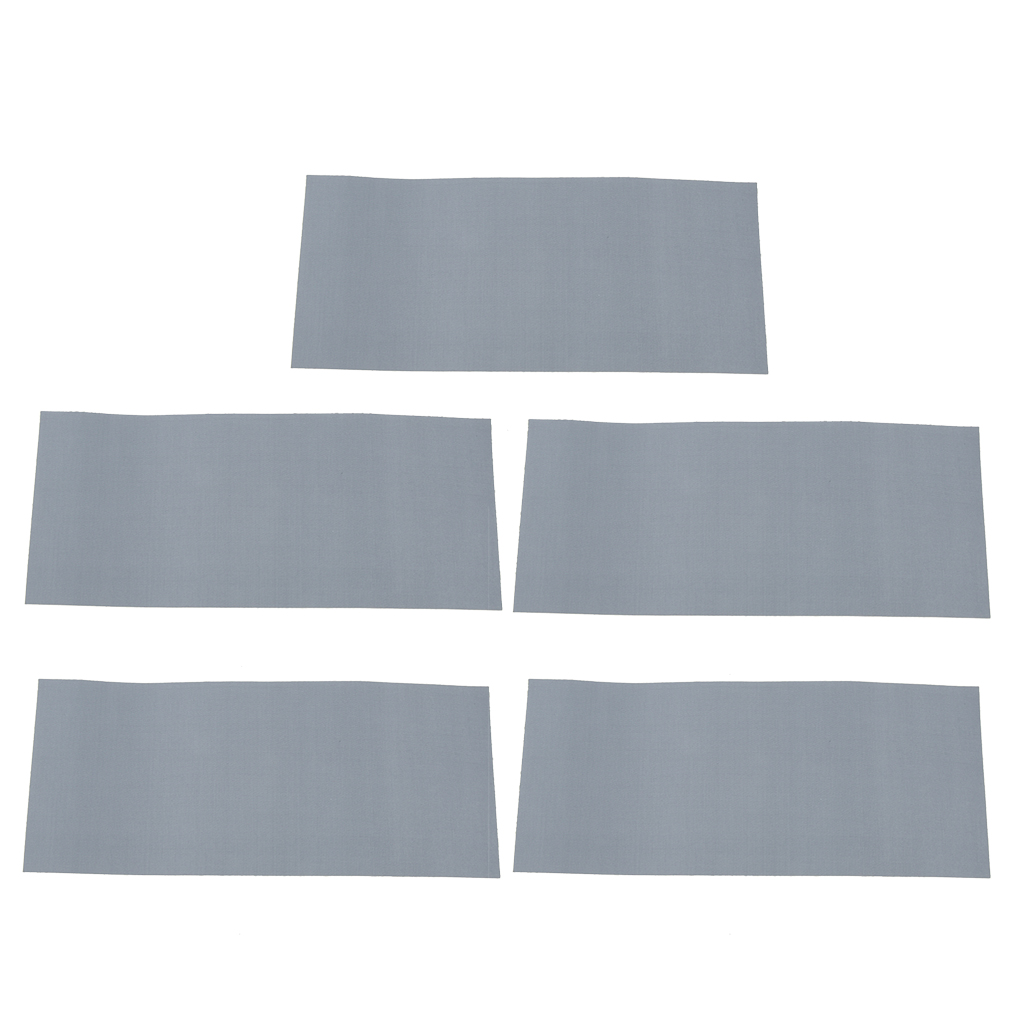 5x Tent Repair Canvas Awning Sail Kites Waterproof Adhesive Tape Patches