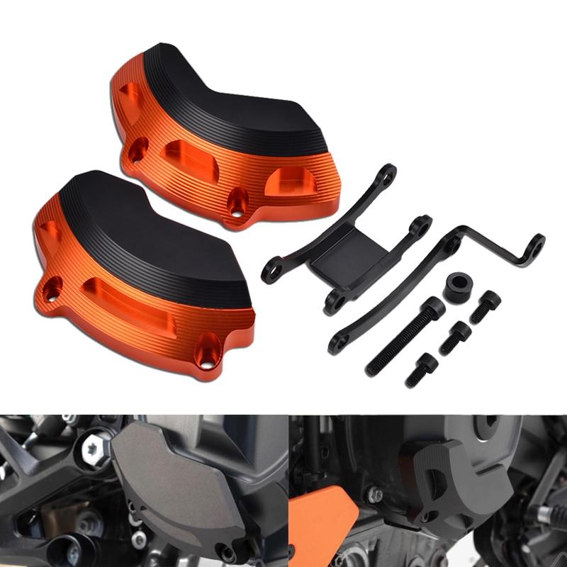 Gauche & Rigt côté moteur boîtier curseur protecteur garde pour KTM 790 Duke 2018 2019 790 Duke moto accessoires pièces