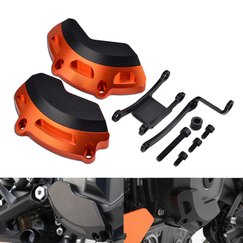 Left & Rigt Side Engine Case Slider Protector Guard For KTM 790 Duke 2018 2019 790Duke Motorcycle Accessories Parts motorcycle parts left