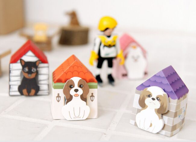DIY 3d Lovely puppy dog house sticky notes post it notes memo pads for diary memo notepads Office Papelaria Supplies