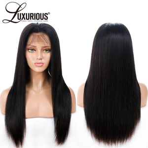 Image 3 - 6inch Deep Parting 13X6 Lace Front Human Hair Wigs For Black Women 8 24inch 150% Density Natural Brazilian Remy Human Hair Wigs